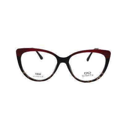 Armação para Óculos DiFaty Vermelha