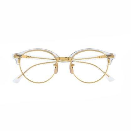 Armação para Óculos Ray Ban Dourada