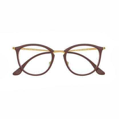 Armação para Óculos Ray Ban Marrom