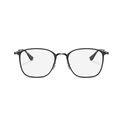 Armação para Óculos Ray Ban Preto Metal