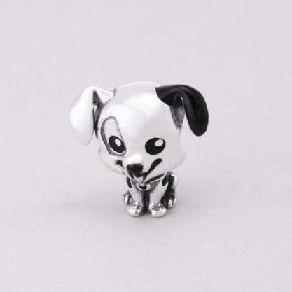 Berloque Prata Cão