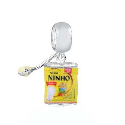 Berloque Prata Lata de Ninho