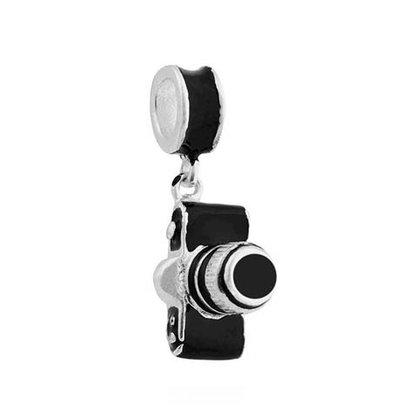 Berloque Prata Máquina Fotográfica