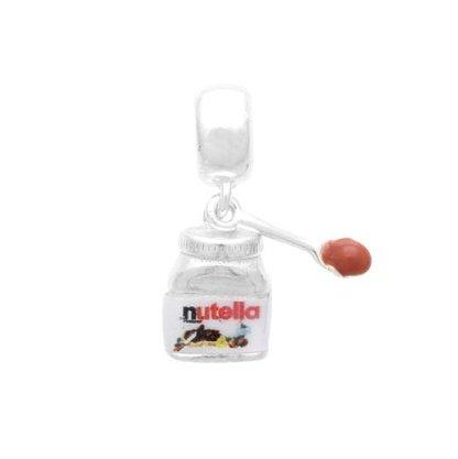 Berloque Prata Pote Nutella