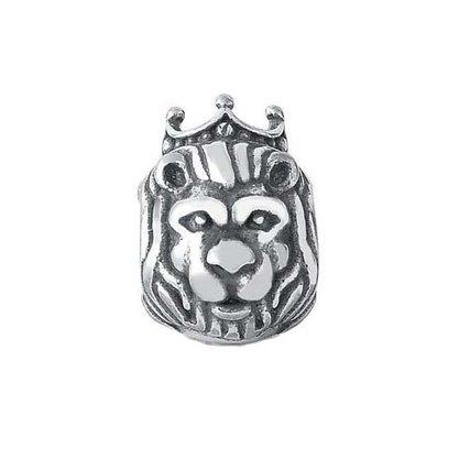 Berloque Prata Rei Leão