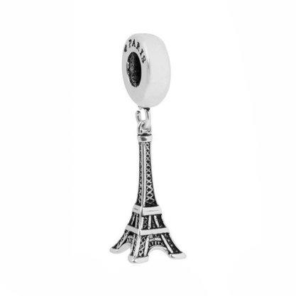 Berloque Prata Torre Eiffel