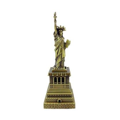 Estátua da Liberdade Metal 18cm