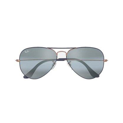 Óculos Solar Ray Ban Aviador Azul