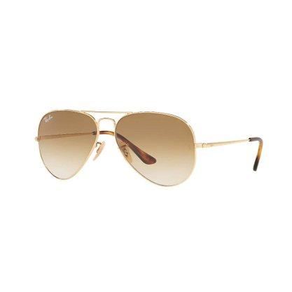 Óculos Solar Ray Ban Aviador Dourado