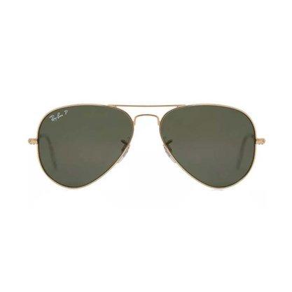 Óculos Solar Ray Ban Aviador Polarizado