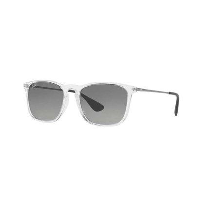 Óculos Solar Ray Ban Chris Cinza Cristal