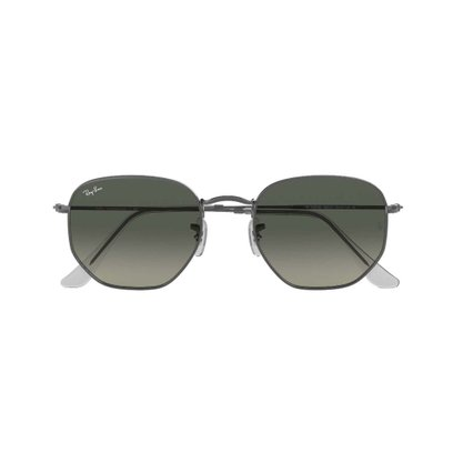 Óculos Solar Ray Ban Hexagonal Flat Chumbo