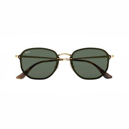 Óculos Solar Ray Ban Metal Dourado