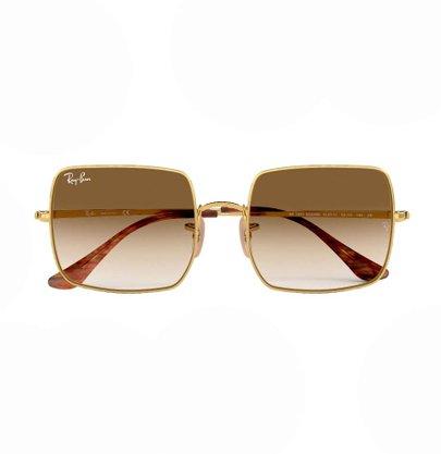 Óculos Solar Ray Ban Square 1971 Dourado