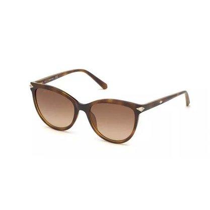 Óculos Solar Swarovski Feminino Marrom