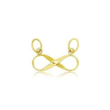 Pingente Ouro 750 Símbolo do Infinito