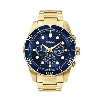 Relógio Bulova Masculino Dourado