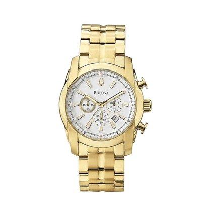 Relógio Bulova Masculino Dourado Cronógrafo
