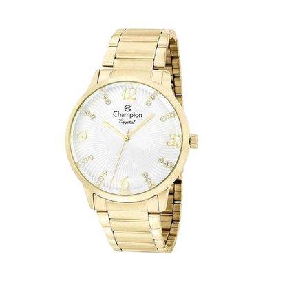 Relógio Champion Feminino Crystal Dourado