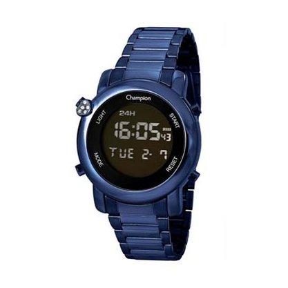 Relógio Champion Feminino Digital Azul