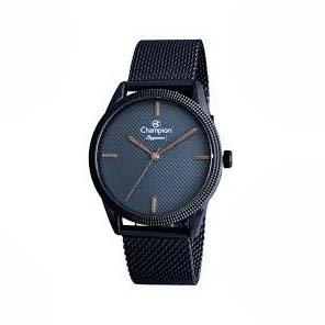 Relógio Champion Unissex Azul Elegance