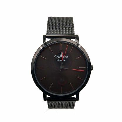 Relógio Champion Unissex Elegance Preto