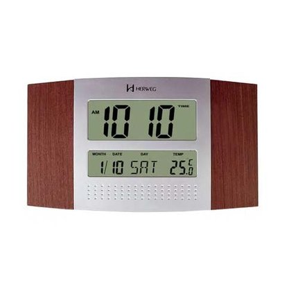 Relógio de Parede e Balcão Herweg Digital