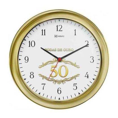 Relógio de Parede Herweg Bodas de Ouro