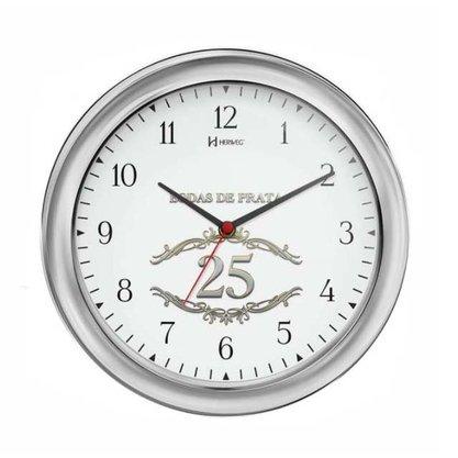 Relógio de Parede Herweg Bodas de Prata