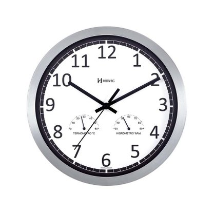 Relógio de Parede Herweg Higrômetro