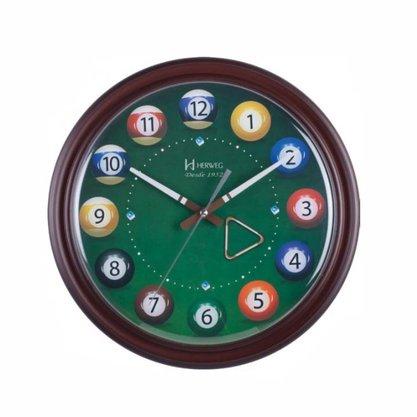 Relógio de Parede Herweg Sinuca