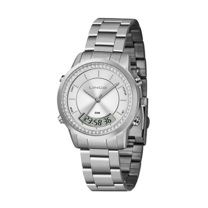 Relógio Lince Feminino Anadigi com Pedras