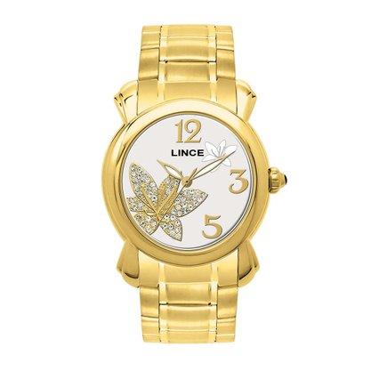 Relógio Lince Feminino Dourado (novo com avaria)