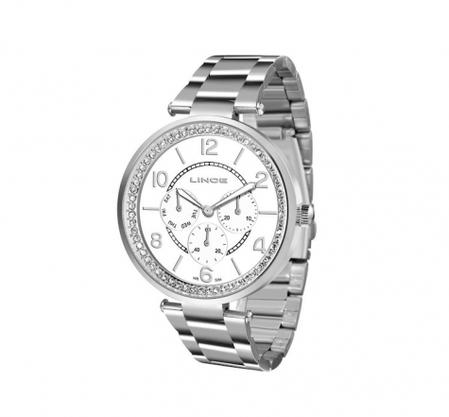 Relógio Lince Feminino Prata