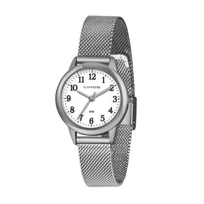 Relógio Lince Feminino Prateado