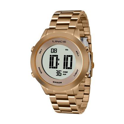 Relógio Lince Feminino Rose Digital