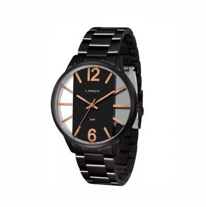 Relógio Lince Unissex Preto