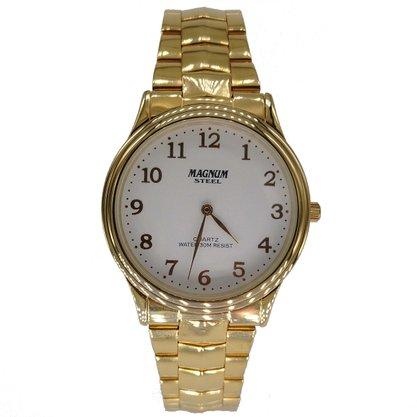 Relógio Magnum Unissex Dourado