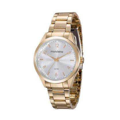 Relógio Mondaine Feminino Dourado (novo com avarias)