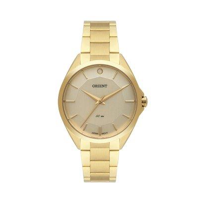 Relógio Orient Feminino Dourado Analógico