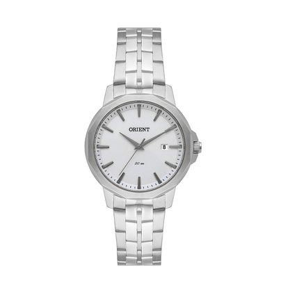 Relógio Orient Feminino Prateado Calendário