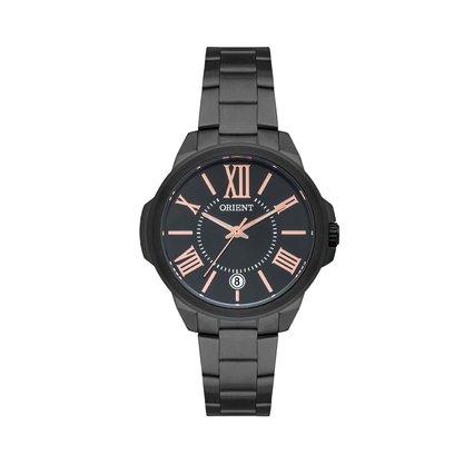 Relógio Orient Feminino Preto Calendário