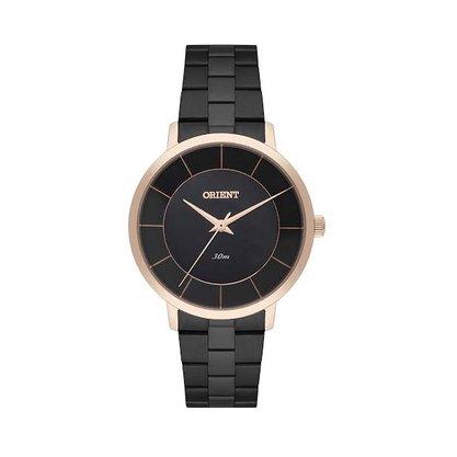 Relógio Orient Feminino Preto Madrepérola