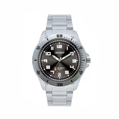Relógio Orient Masculino Aço Calendário