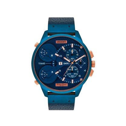 Relógio Orient Masculino Azul XL