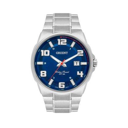 Relógio Orient Masculino Calendário Azul