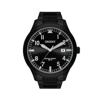 Relógio Orient Masculino Calendário Preto