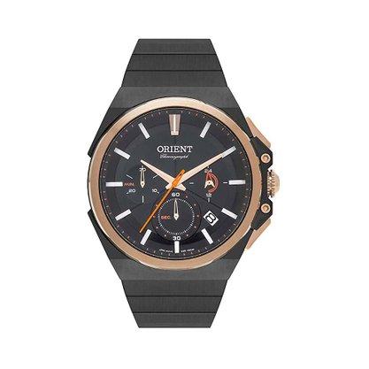 Relógio Orient Masculino Cronógrafo Preto