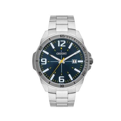 Relógio Orient Masculino Prateado Sport