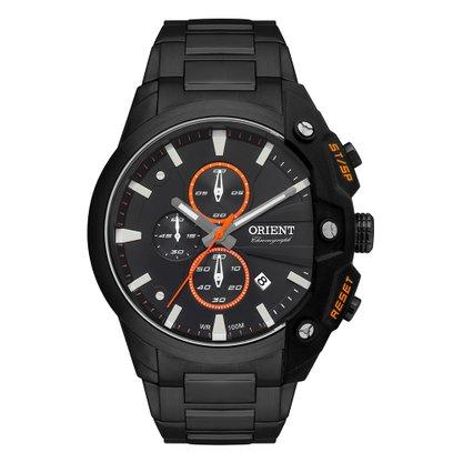 Relógio Orient Masculino Preto Cronógrafo